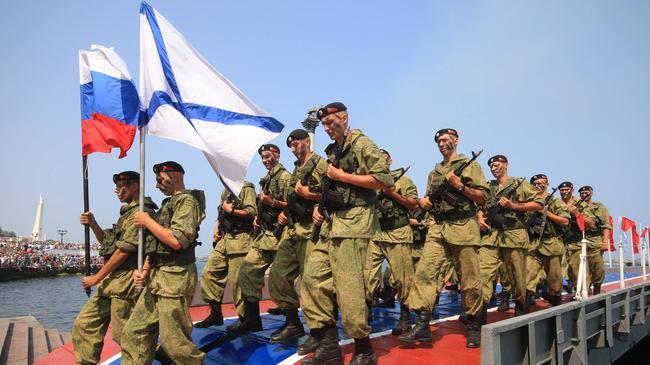 Rosja żołnierze Krym Ukraina