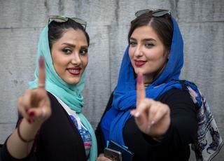 Kiedy Iranki zrzucają hidżaby
