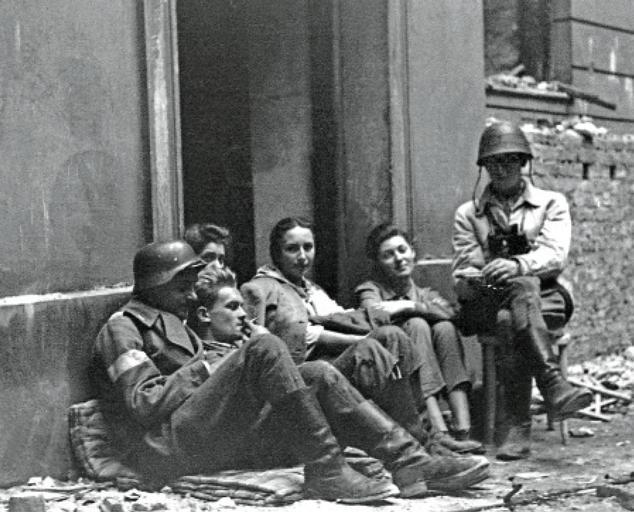 Żołnierze 2. komp. Batalionu Golski