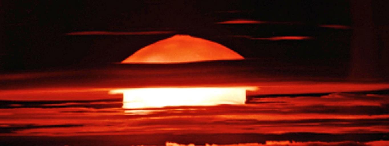 Atol Bikini bomba wodorowa arsenał nuklearny bomba atomowa