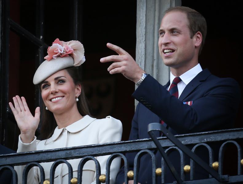 Kate Middleton książe William