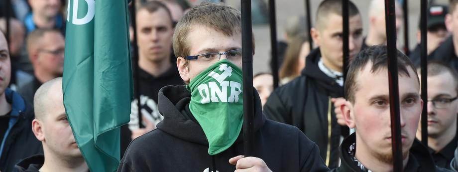 uczestnicy manifestacji
