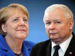 Jarosław Kaczyński zadowolony ze spotkania z Angelą Merkel?