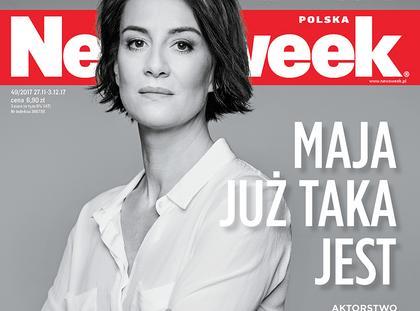 Okładka Newsweek Ostaszewska