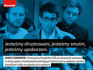 """Lekarze w Polsce są sfrustrowani i upokorzeni? """"Niech jadą za granicę"""""""