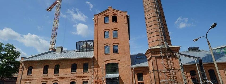 Budynek Muzeum Polskiej Wódki na warszawskiej Pradze