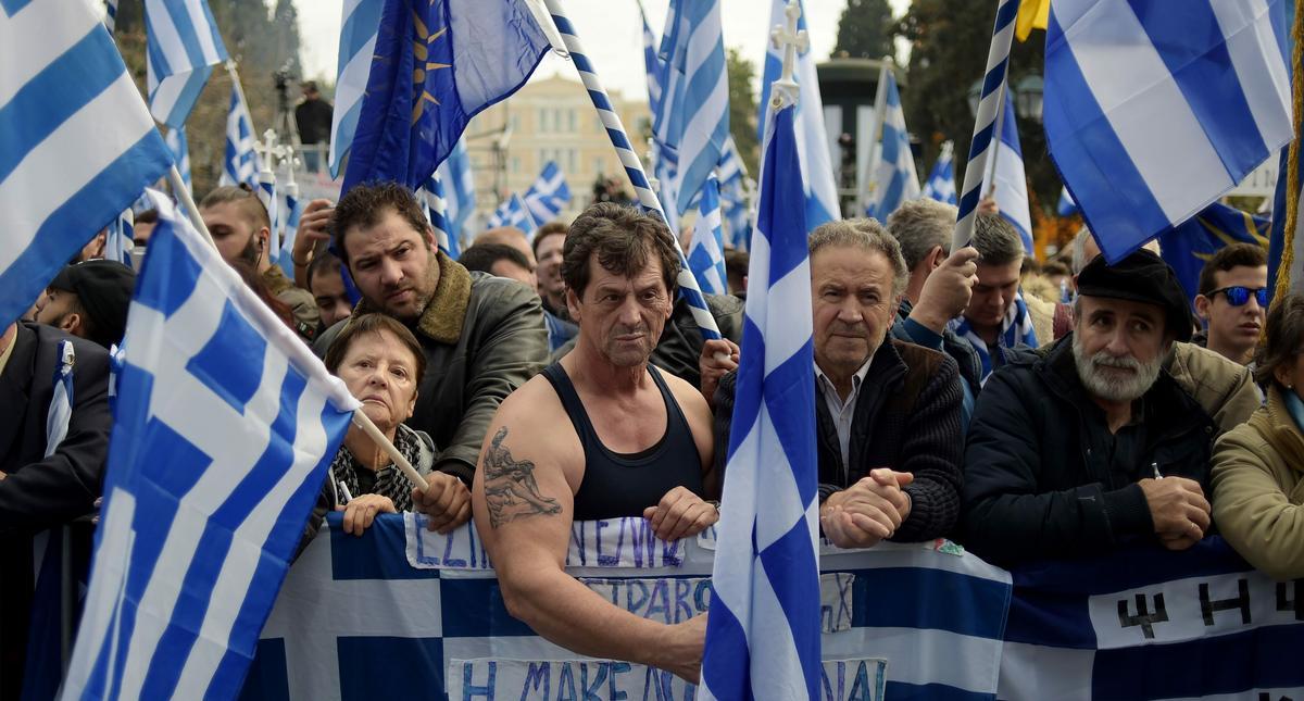 Macedonię i Grecję dzieli najbardziej absurdalny spór w Europie.