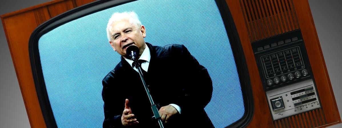 Kaczyński TVP