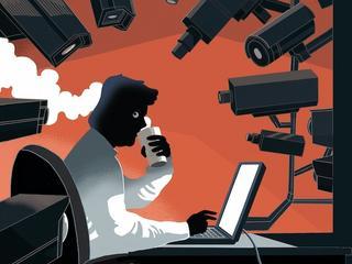 Wielki Technobrat patrzy