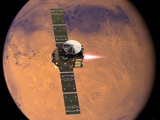 Na Marsie odkryto jezioro. Czy jest w nim życie?