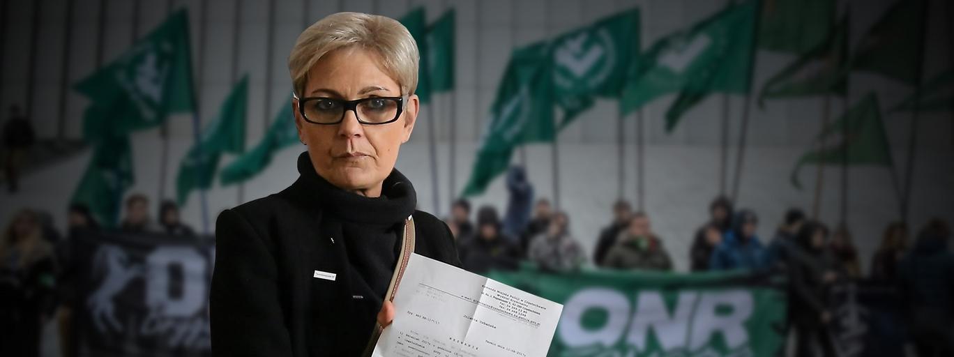 Jolanta Urbańska, częstochowska radna PO, szefowa Stowarzyszenia Demokratyczna RP