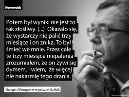 Żegnamy wybitnego dziennikarza, Grzegorza Miecugowa