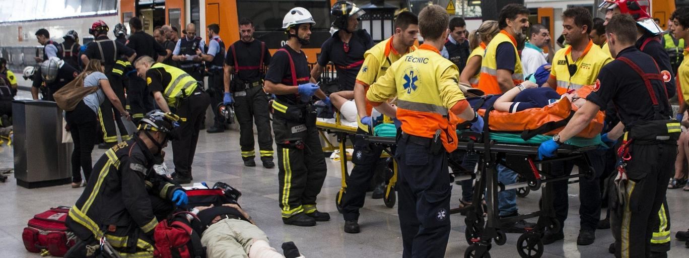 wypadek kolejowy barcelona