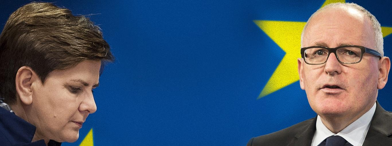komisja europejska, szydło, timmermans, KE, opinia