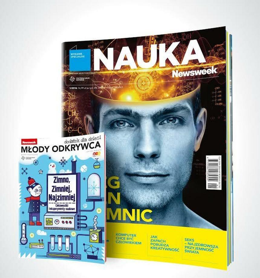 """Okładka nowego wydania """"Newsweeka Nauki""""."""