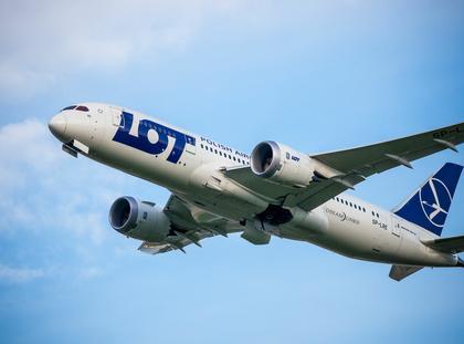 Samolot PLL LOT Dreamliner