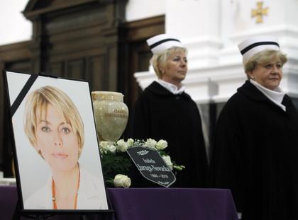 Uroczystości pogrzebowe Izabeli Jarugi-Nowackiej