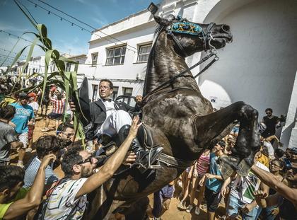 Baleary Hiszpania zdjęcia fotografia konie