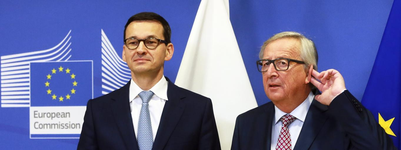 Mateusz Morawiecki Jean-Claude Juncker
