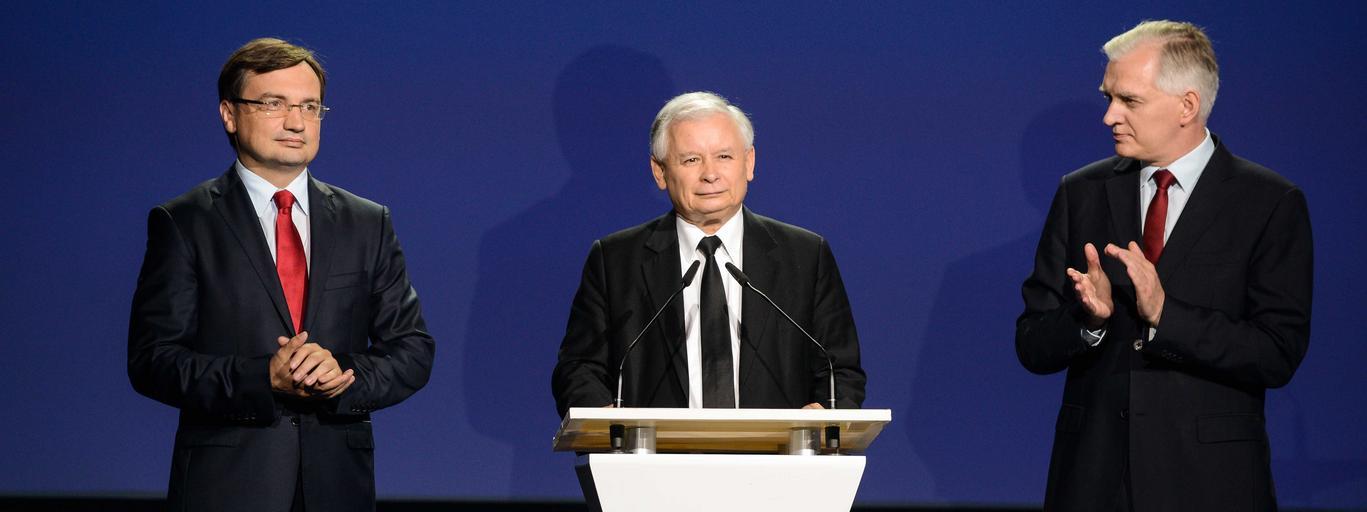 PIS Jarosław Kaczyński Zbigniew ziobro jarosław gowin