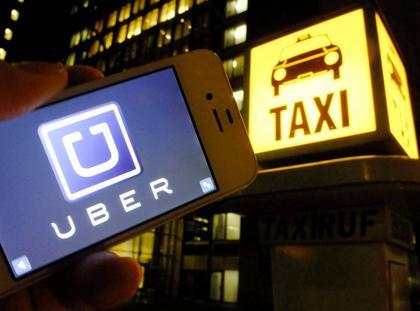 Uber taksówki taksówkarze przewóz osób