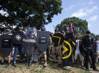 Charlottesville zamieszki USA