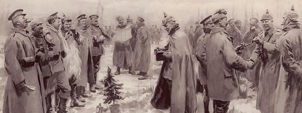 I wojna światowa rozejm Boże Narodzenie