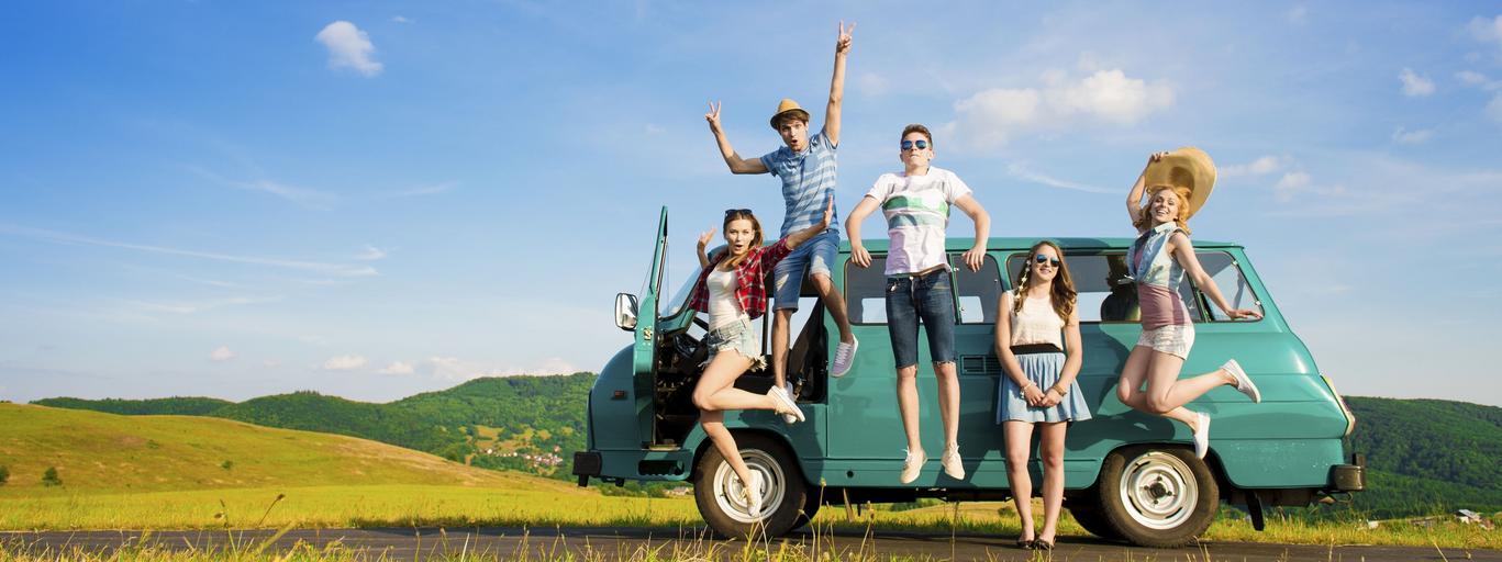 Młodzież wycieczka wyjazd