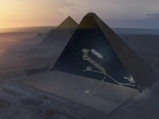 Tajemnice Piramidy Cheopsa. Właśnie odkryto jedną z nich