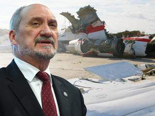 """Macierewicz prezentuje """"raport techniczny"""": Samolot uległ destrukcji w powietrzu w wyniku eksplozji"""