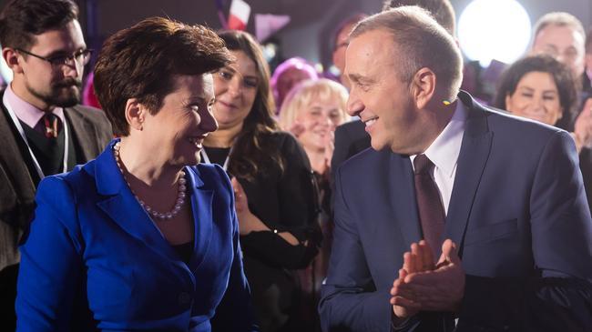 Grzegorz Schetyna Hanna Gronkiewicz-Waltz PO polityka Platforma Obywatelska