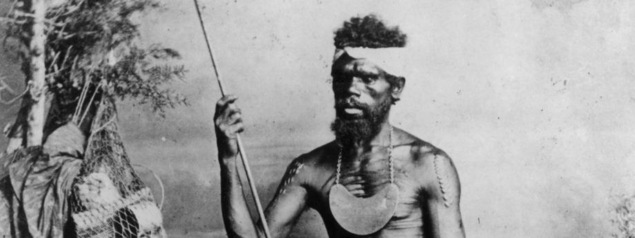 Aborygeni na zdjęciu z ok. 1880 roku.