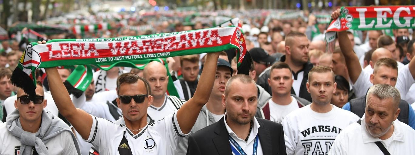 kibice Legia Real Madryt