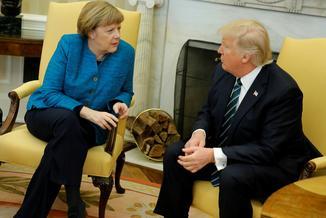 Merkel poradzi sobie z Trumpem?