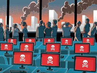 Cyberwojny wywiadów, dziury w Windowsie i gigantyczny atak hakerów