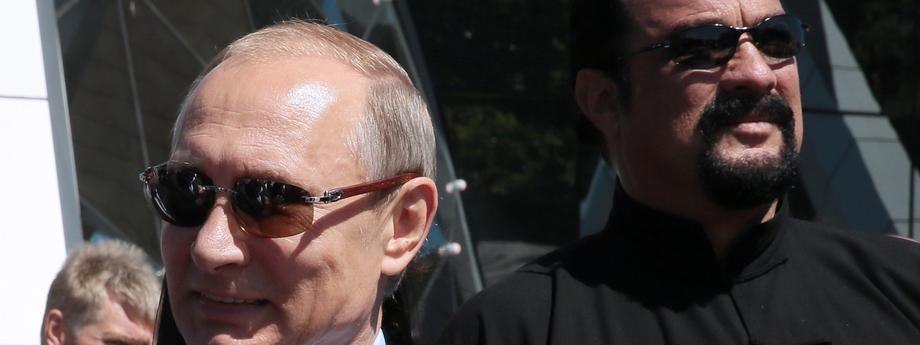 President Putin visits Primorye Oceanarium