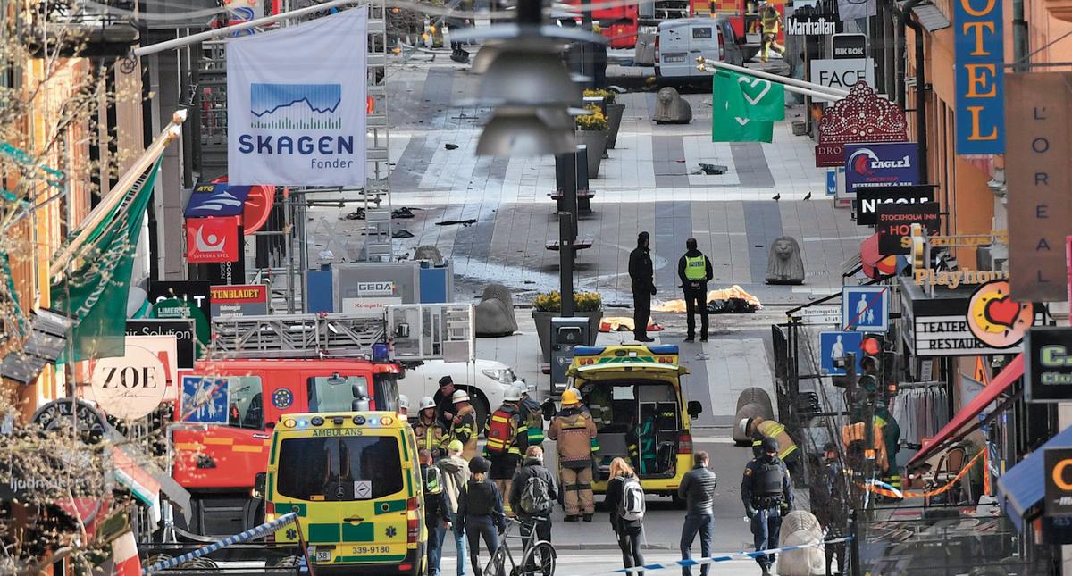 Zamach w Szwecji
