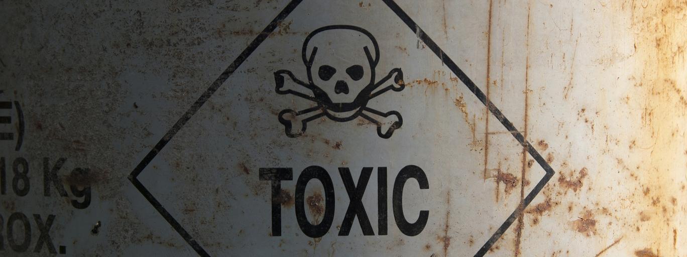 trucizna broń chemiczna gaz