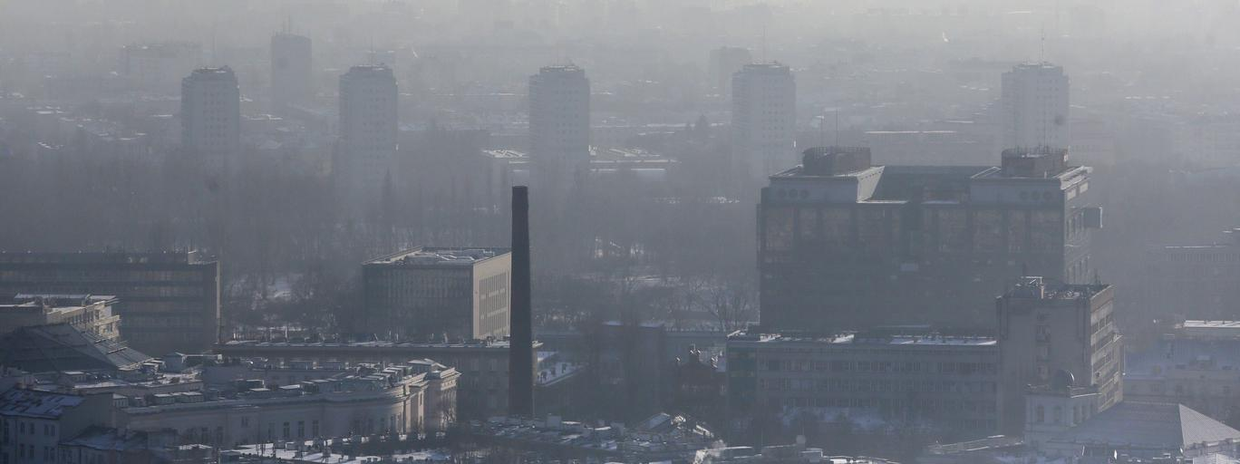 Smog nad Warszawą