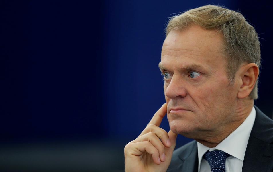 Donald Tusk Rada Europejska polityka Unia Europejska