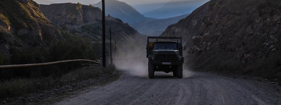 ciężarówka Rosja