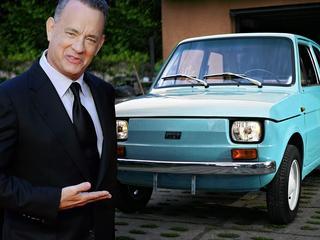 W garażu będzie miał malucha, a teraz Tom Hanks nawet śpiewa po polsku