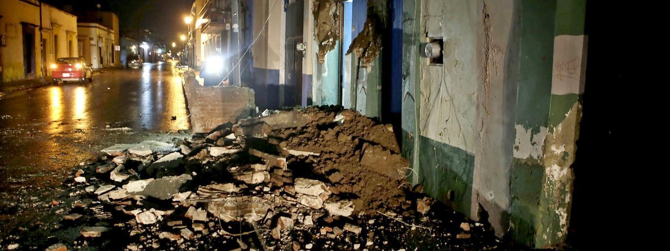 Meksyk trzęsienie ziemi klęska żywiołowa katastrofa naturalna