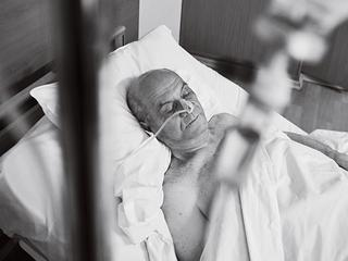 Pacjenci wyniszczeni przez głód. Niektórzy umierają z niedożywienia