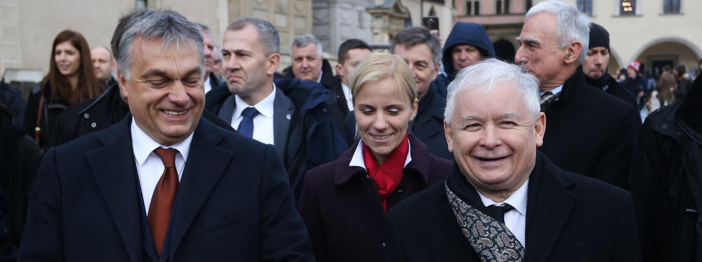 Jarosław Kaczynski Viktor Orban polityka Polska Węgry PiS Prawo i Sprawiedliwość