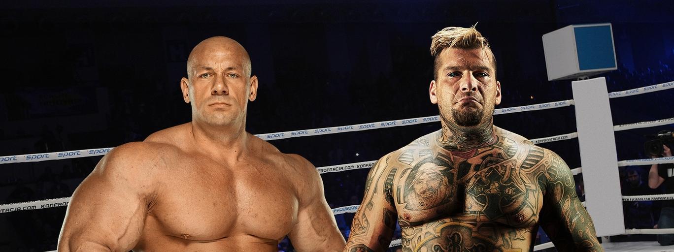 Popek Monster Paweł Rak Robert Burneika Hardkorowy Koksu MMA sporty walki KSW Colosseum