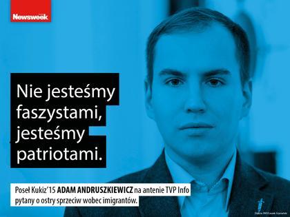 Adam Andruszkiewicz Ruch Kukiz'15 polityka narodowcy