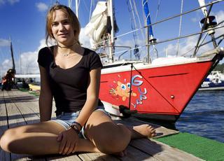 Dziewczynka i oceany