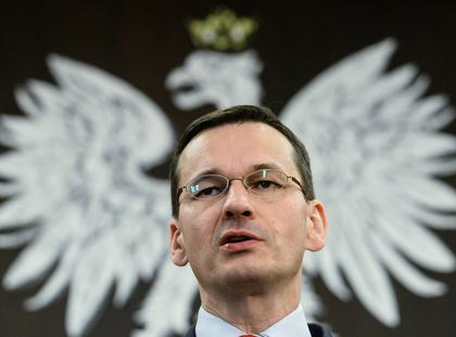 Mateusz Morawiecki w Gdansku