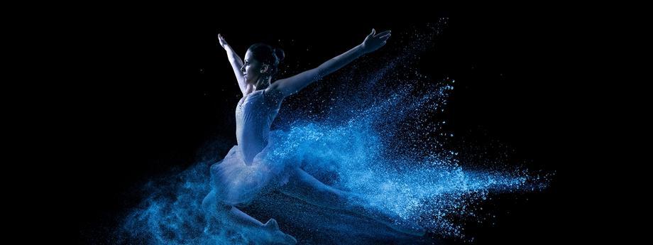 Balet energia kobieta baletnica